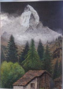 スイスの印象(マッターホルン)